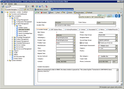 hp openview service desk 4.5 manual